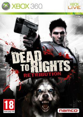 Copertina del gioco Dead to Rights : Retribution per Xbox 360