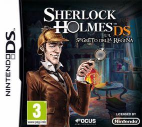 Immagine della copertina del gioco Sherlock Holmes e il Segreto della Regina per Nintendo DS