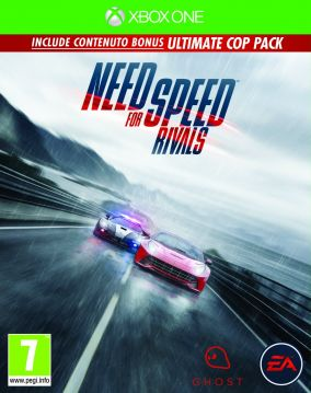 Copertina del gioco Need for Speed Rivals per Xbox One