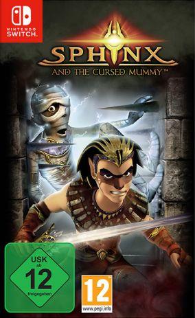 Immagine della copertina del gioco Sphinx and the Cursed Mummy per Nintendo Switch