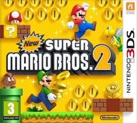 Immagine della copertina del gioco New Super Mario Bros. 2 per Nintendo 3DS