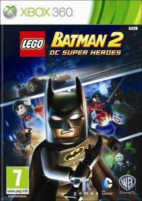 Copertina del gioco LEGO Batman 2: DC Super Heroes per Xbox 360