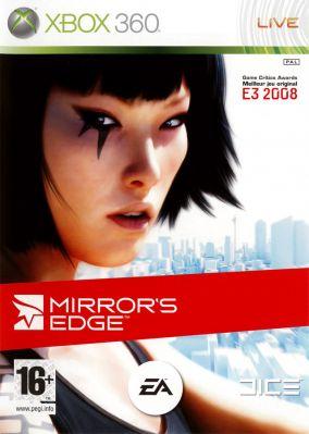 Copertina del gioco Mirror's Edge per Xbox 360