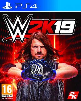 Immagine della copertina del gioco WWE 2K19 per PlayStation 4