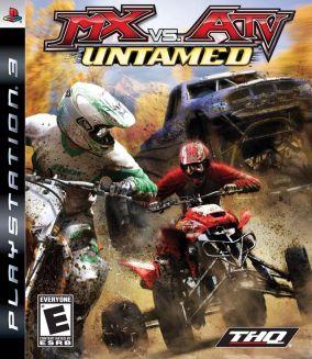 Copertina del gioco MX vs. ATV Untamed per PlayStation 3
