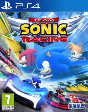 Copertina del gioco Team Sonic Racing per Playstation 4