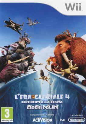 Copertina del gioco L'Era Glaciale 4: Continenti alla Deriva - Giochi Polari per Nintendo Wii