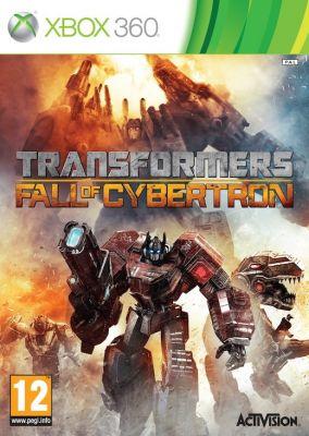 Copertina del gioco Transformers: La Caduta di Cybertron per Xbox 360
