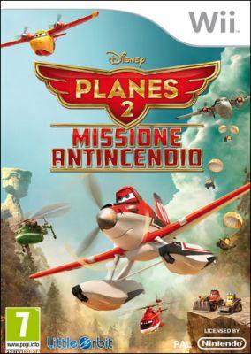 Copertina del gioco Planes 2: Missione Antincendio per Nintendo Wii