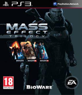 Copertina del gioco Mass Effect Trilogy per PlayStation 3
