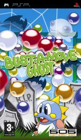 Immagine della copertina del gioco Bust A Move Ghost per PlayStation PSP