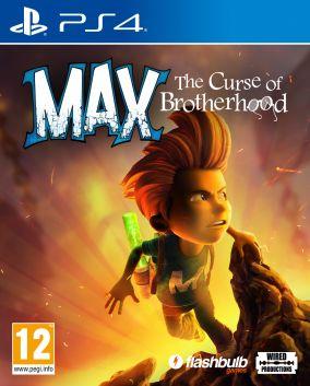 Copertina del gioco Max: The Curse of Brotherhood per Playstation 4