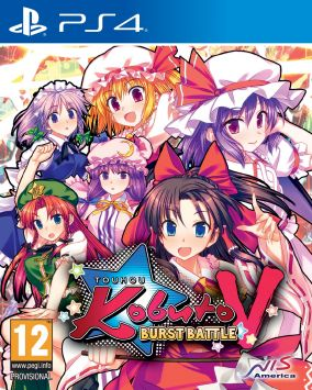 Immagine della copertina del gioco Touhou Kobuto V: Burst Battle per Playstation 4