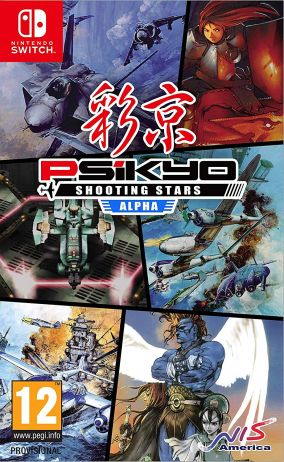 Copertina del gioco Psikyo Shooting Stars Alpha per Nintendo Switch