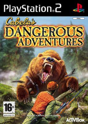 Immagine della copertina del gioco Cabela's Dangerous Adventures per PlayStation 2