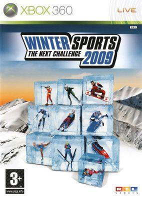 Copertina del gioco Winter Sports 2009: The Next Challenge per Xbox 360