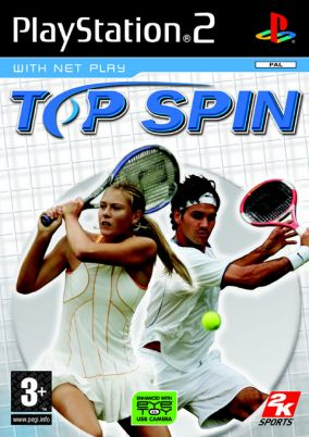 Copertina del gioco Top Spin per PlayStation 2