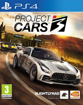 Copertina del gioco Project CARS 3 per PlayStation 4
