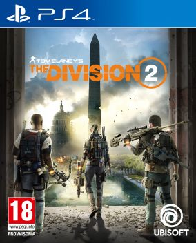 Copertina del gioco Tom Clancy's The Division 2 per PlayStation 4