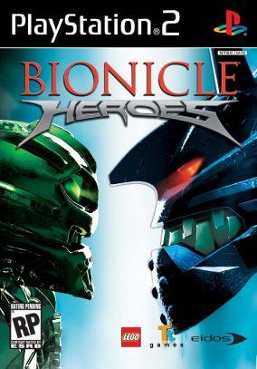 Copertina del gioco Lego Bionicle Heroes per PlayStation 2
