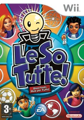 Immagine della copertina del gioco Le So Tutte! per Nintendo Wii