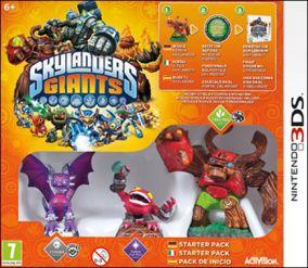 Immagine della copertina del gioco Skylanders Giants per Nintendo 3DS