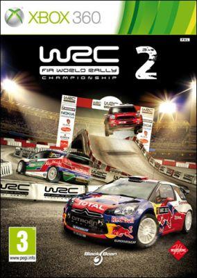 Copertina del gioco WRC 2 Fia World Rally Championship per Xbox 360