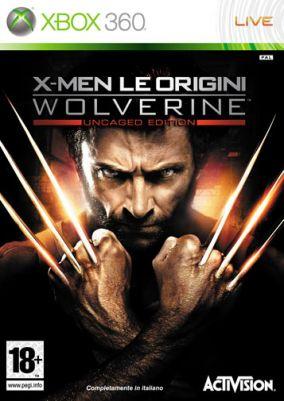 Copertina del gioco X-Men - Le Origini: Wolverine per Xbox 360