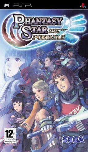 Immagine della copertina del gioco Phantasy Star Portable per PlayStation PSP