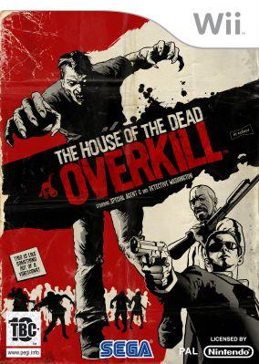 Immagine della copertina del gioco House of the Dead: Overkill per Nintendo Wii