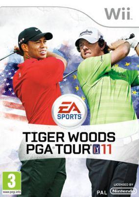 Immagine della copertina del gioco Tiger Woods PGA Tour 11 per Nintendo Wii