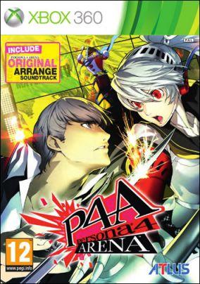 Copertina del gioco Persona 4: Arena per Xbox 360