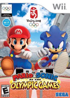 Immagine della copertina del gioco Mario e Sonic ai Giochi Olimpici per Nintendo Wii