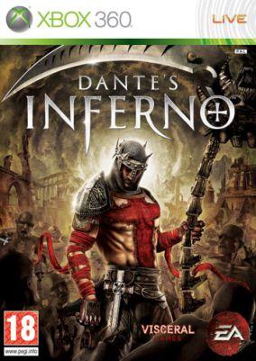 Copertina del gioco Dante's Inferno per Xbox 360
