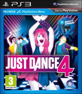 Immagine della copertina del gioco Just Dance 4 per PlayStation 3