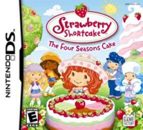 Immagine della copertina del gioco Strawberry Shortcake - The Four Seasons Cake per Nintendo DS