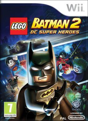 Copertina del gioco LEGO Batman 2: DC Super Heroes per Nintendo Wii