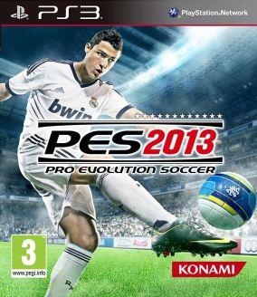 Immagine della copertina del gioco Pro Evolution Soccer 2013 per Playstation 3