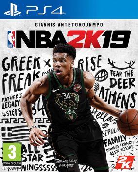 Immagine della copertina del gioco NBA 2K19 per PlayStation 4