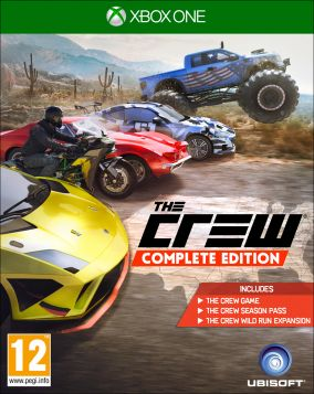 Copertina del gioco The Crew Wild Run per Xbox One