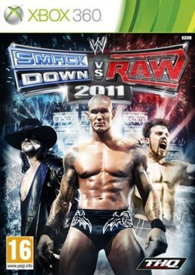 Copertina del gioco WWE Smackdown vs. RAW 2011 per Xbox 360