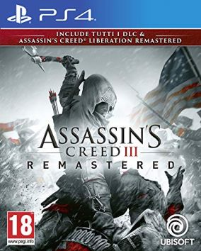 Copertina del gioco Assassin's Creed III Remastered per PlayStation 4