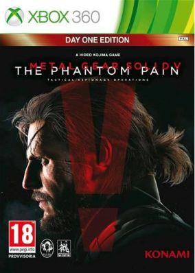 Copertina del gioco Metal Gear Solid V: The Phantom Pain per Xbox 360