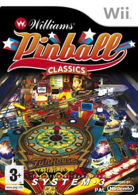 Immagine della copertina del gioco Williams Pinball Classics per Nintendo Wii