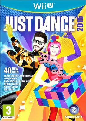 Copertina del gioco Just Dance 2016 per Nintendo Wii U