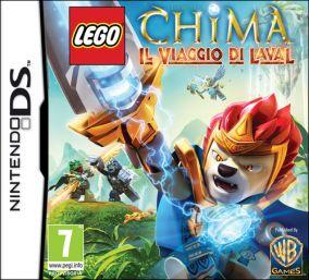 Copertina del gioco LEGO Legends of Chima: Il Viaggio di Laval per Nintendo DS