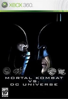 Copertina del gioco Mortal Kombat Vs DC Universe per Xbox 360