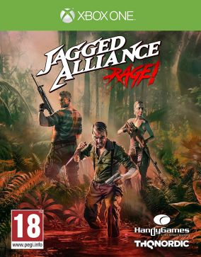 Immagine della copertina del gioco Jagged Alliance: Rage per Xbox One