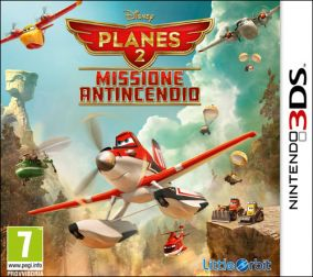 Immagine della copertina del gioco Planes 2: Missione Antincendio per Nintendo 3DS