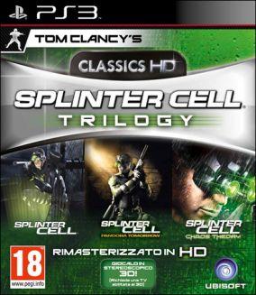 Copertina del gioco Tom Clancy's Splinter Cell Trilogy HD per PlayStation 3
